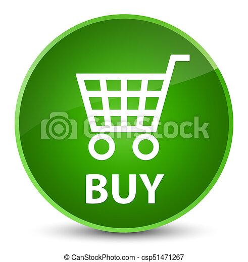 Buy elegant green round button - csp51471267