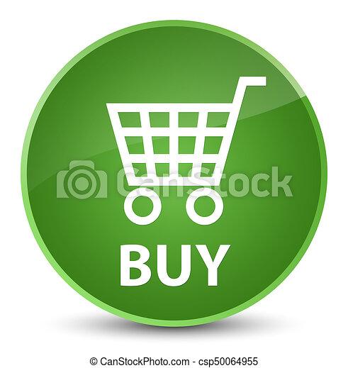 Buy elegant soft green round button - csp50064955