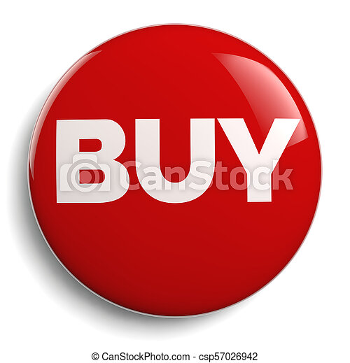 Buy Icon - Isolated Red Symbol - csp57026942