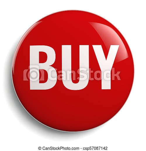 Buy Icon - Isolated Red Symbol - csp57087142