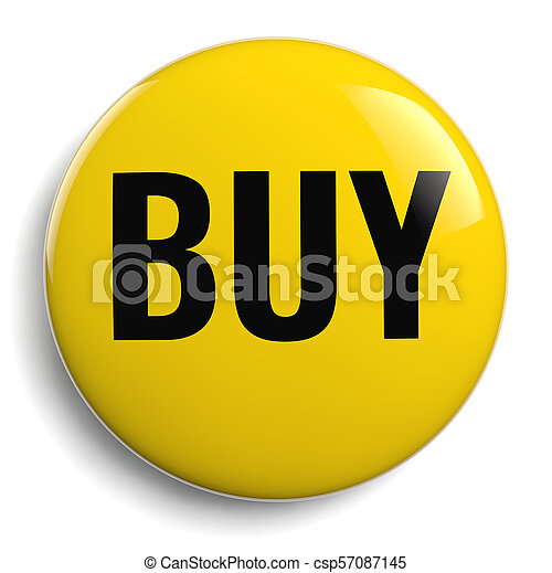 Buy Icon - Isolated Yellow Symbol - csp57087145