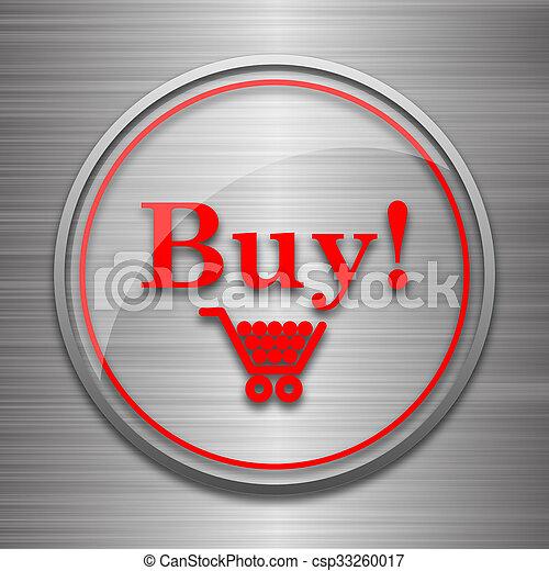 Buy icon - csp33260017