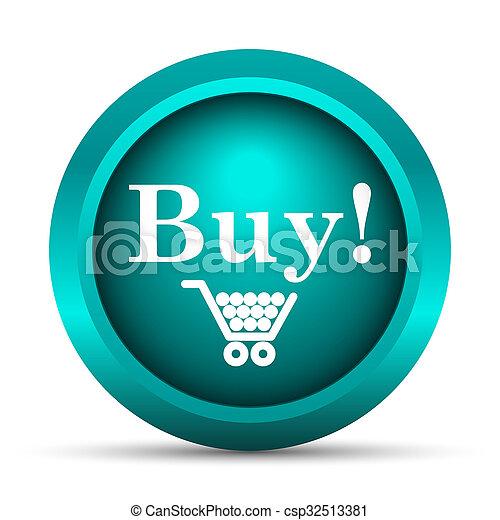 Buy icon - csp32513381