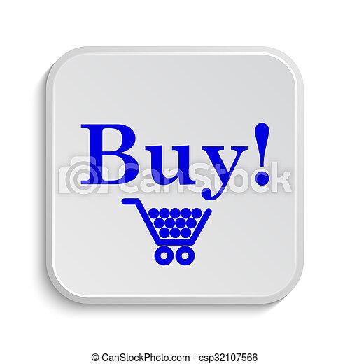 Buy icon - csp32107566