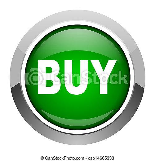 buy icon - csp14665333