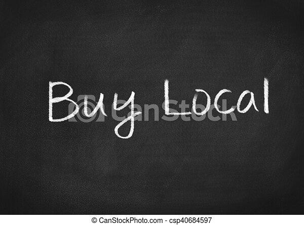 Buy Local - csp40684597