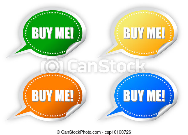 Buy me stickers - csp10100726
