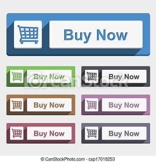 Buy Now Button - csp17018253