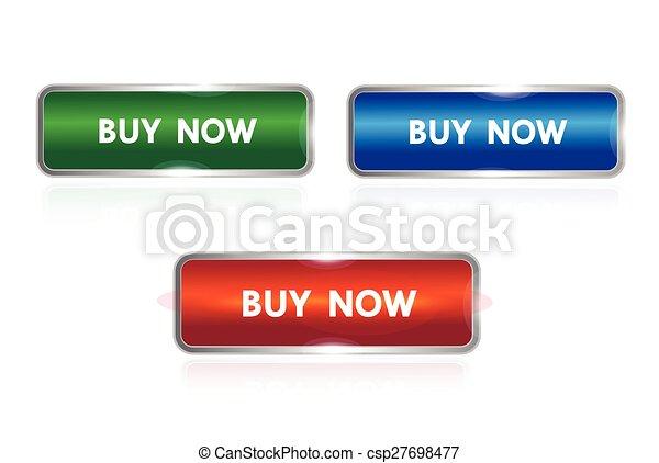 buy now button - csp27698477
