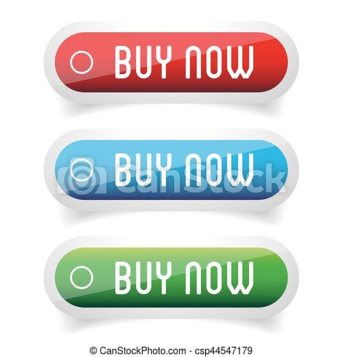 Buy Now button set - csp44547179