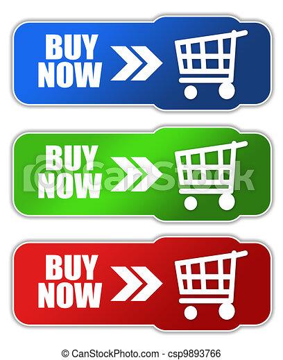 Buy now button - csp9893766