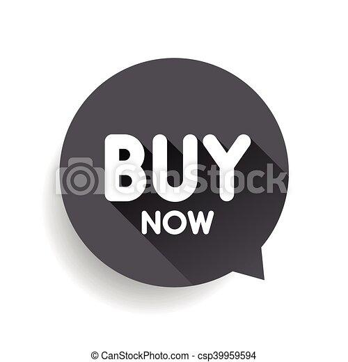 Buy Now button vector - csp39959594