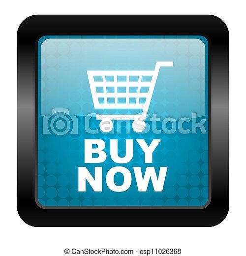 buy now icon - csp11026368