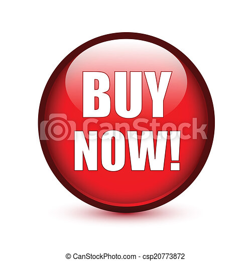 Buy now text on red button - csp20773872