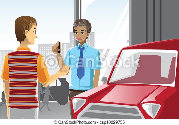 Buying a car - csp10229755