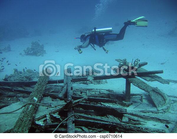 Inmersión profunda - csp0710614