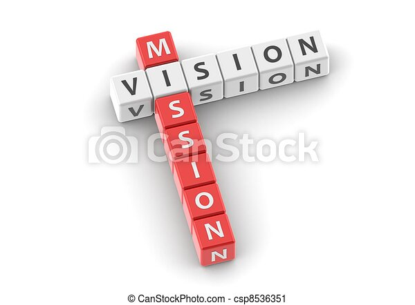 Buzzwords: Mission vision - csp8536351