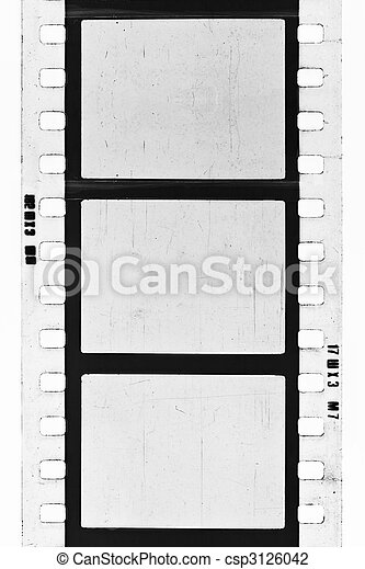 BW film strip - csp3126042