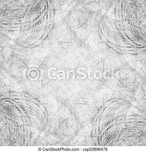 bw fractal background - csp33896476