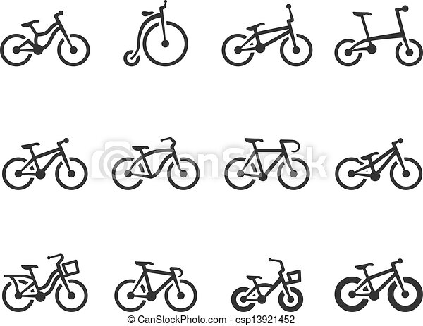 BW Icons - Bicycle Accessories - csp13921452