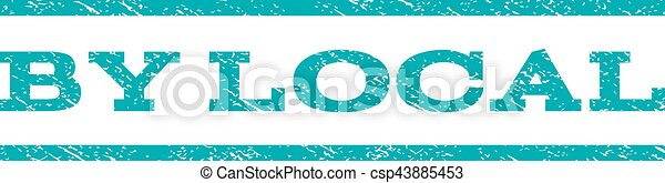 By Local Watermark Stamp - csp43885453