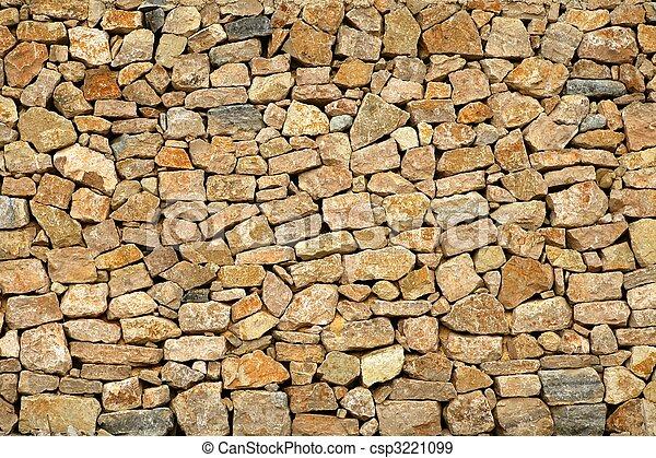 byggnad, gyllene, sten, gammal, vägg, frimureri - csp3221099