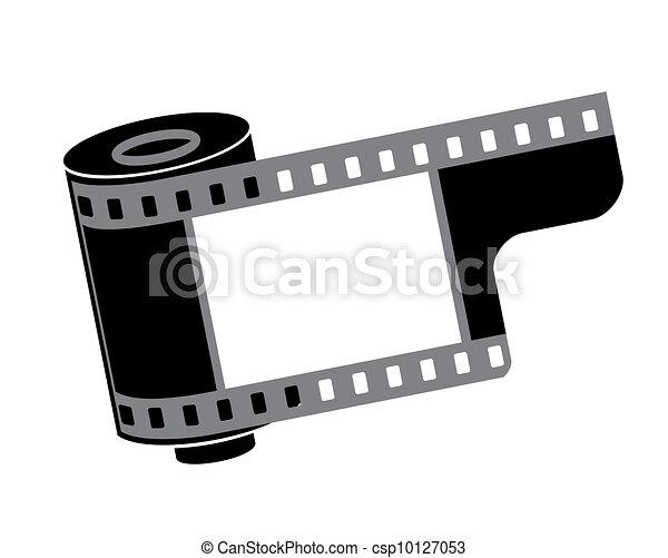 Redoble de cámara, ilustración vectorial - csp10127053