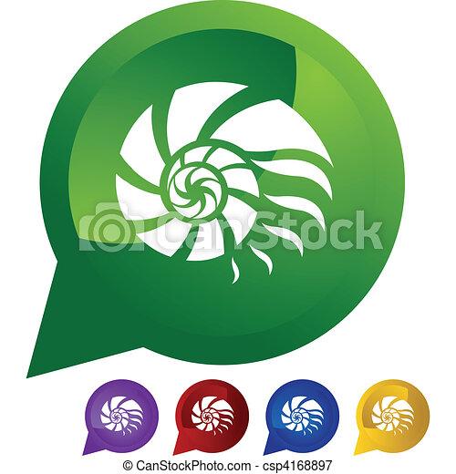 Concha de Nautilus - csp4168897