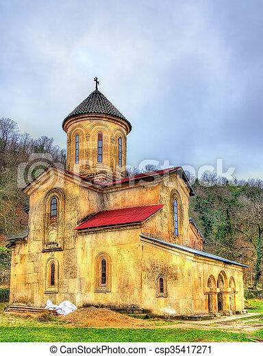 El monasterio Gelati en Caucaso - csp35417271