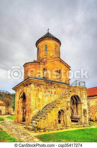 El monasterio Gelati en Caucaso - csp35417274