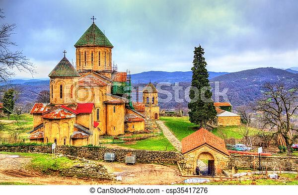 El monasterio Gelati en Caucaso - csp35417276