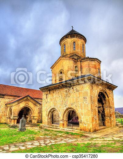 El monasterio Gelati en Caucaso - csp35417280