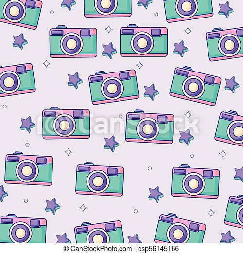 Camera Fotografico Fundo Coloridos Camera Ilustracao Fundo
