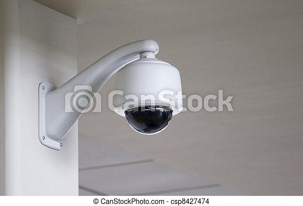 câmera segurança - csp8427474