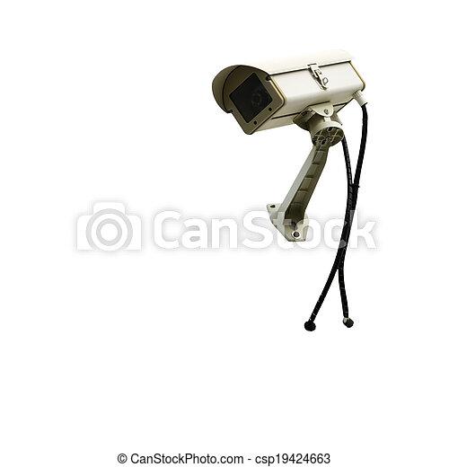 câmera segurança - csp19424663