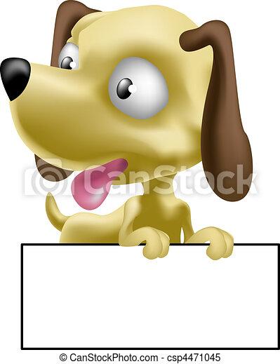 cão, ilustração - csp4471045