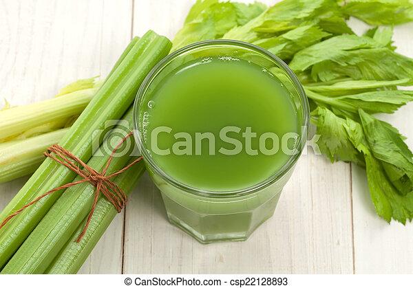 céleri, jus, vert - csp22128893