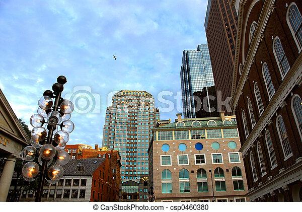Boston en el centro - csp0460380