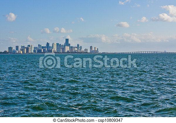 En el centro de Miami - csp10809347