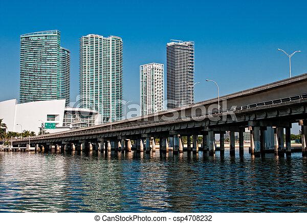 En el centro de Miami - csp4708232
