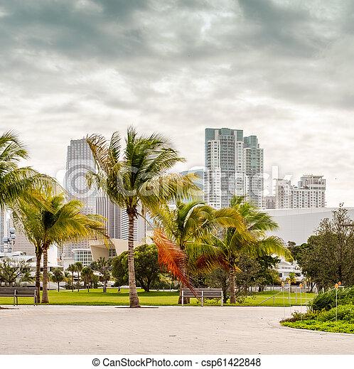 En el centro de Miami - csp61422848