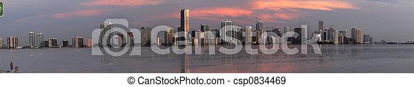 En el centro de Miami - csp0834469