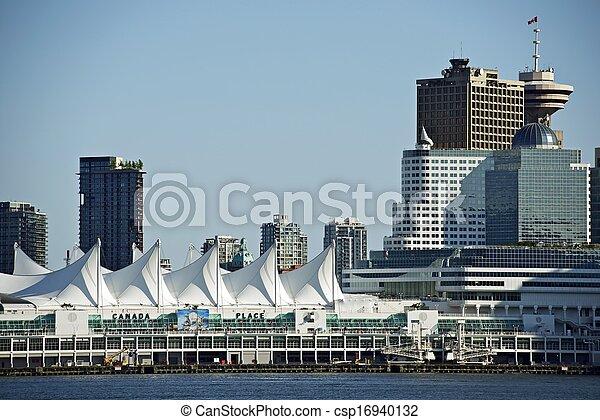 En el centro de Vancouver - csp16940132