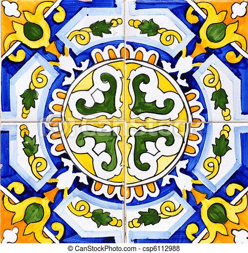 céramique, espagnol - csp6112988