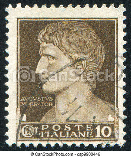 Augustus César - csp9900446
