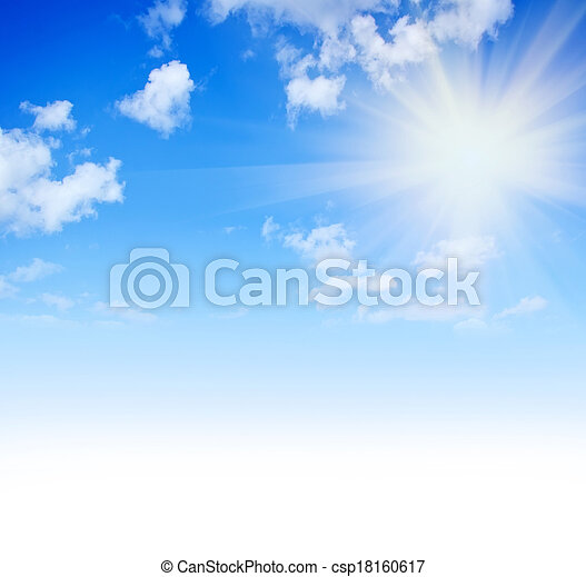 céu azul - csp18160617