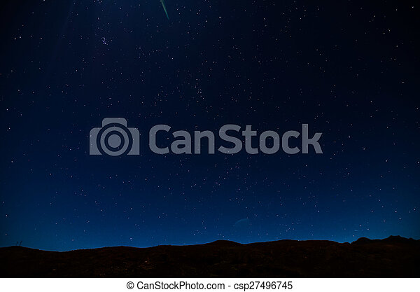 céu, noturna - csp27496745