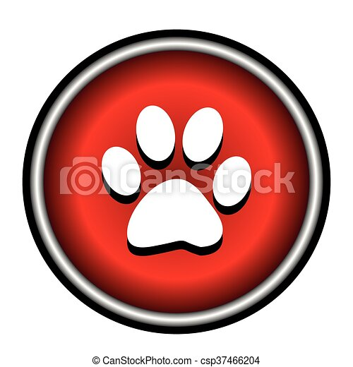El icono del círculo rojo Vector - csp37466204