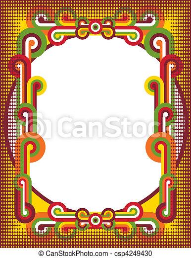 Círculos Popart - csp4249430