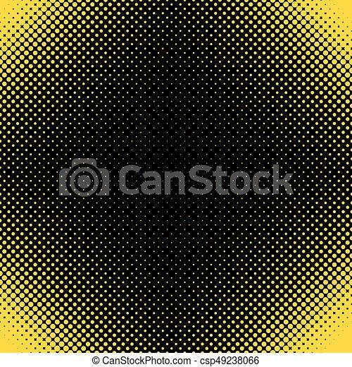 Patrón de punto medio: diseño vectorial de círculos de diferentes tamaños - csp49238066
